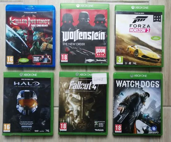 Gra na Xbox One Fallout 4 Halo Forza Watch Dogs Wolfenstein Killer Ins