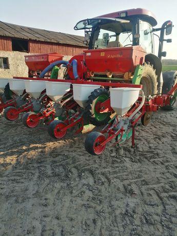 Siew kukurydzy z podsiewaczem nawozu