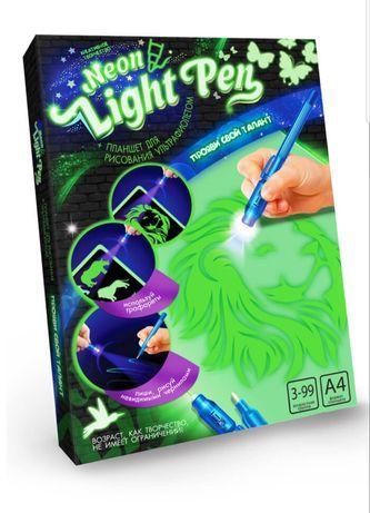 """Доска для рисования светом """"Neon light pen"""" рисую светом малюю світлом"""