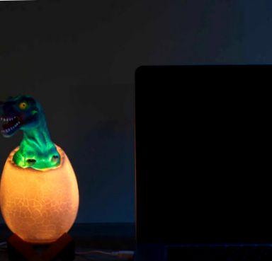 Ночной светильник Elite – динозавр EL-543-12