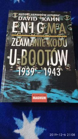 Kahn Enigma złamanie kodu U-Bootów