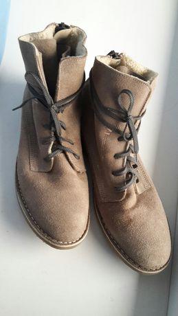 Ботинки черевики шкіряні кожаные