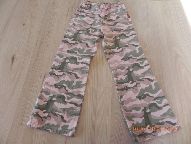 spodnie moro 116-122