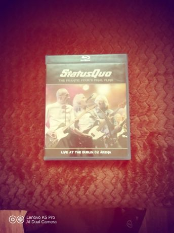 Status Quo - The Frantic Four's finl fling - Live Dublin-Bluray-