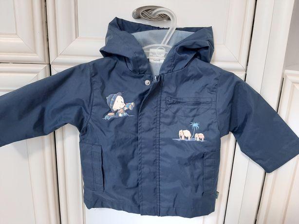 Курточка-дождевик на мальчика р.6-9М