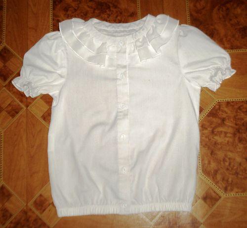 Блузка школьная рост 134