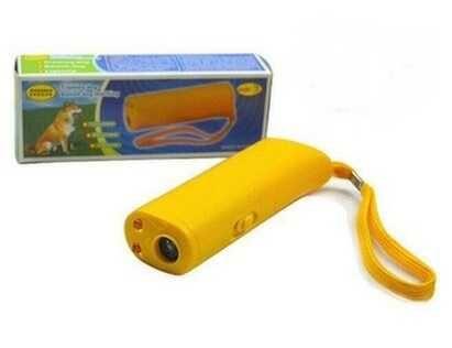 Ультразвуковой отпугиватель собак с фонариком