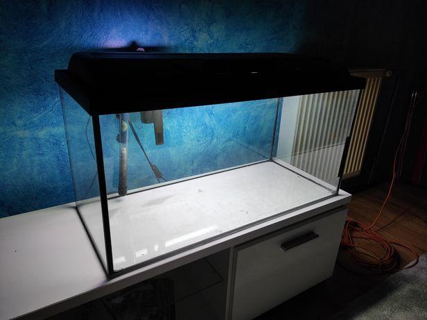Akwarium 110 l z wyposażeniem 80x35x40