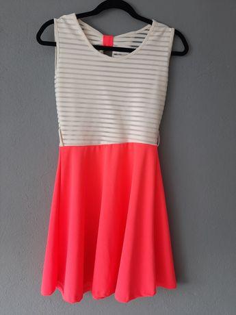 Sukienka z kokardką ,rozmiar. S