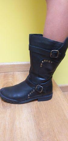 Buty dziewczęce zimowe Mrugała