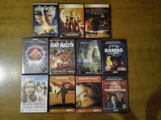 Filmy DVD (Rambo, Gwiezdne Wrota, Sahara, Trainspotting, Nawiedzona Na