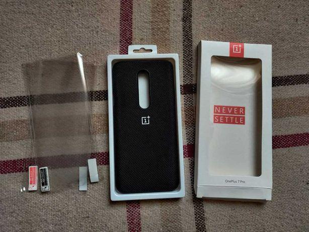 Оригінальний чохол OnePlus 7 pro Nylon Bumper бампер чехол фирменный