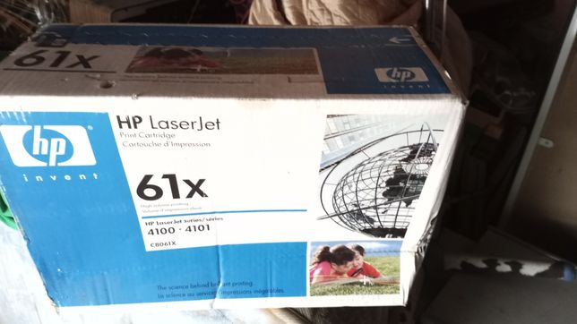 Toner HP laserJet 61 X novo
