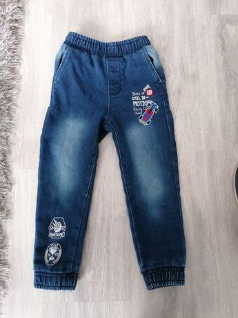 Jegginsy jeans 104
