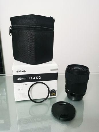 Sigma 35mm 1.4 Linha ART Canon