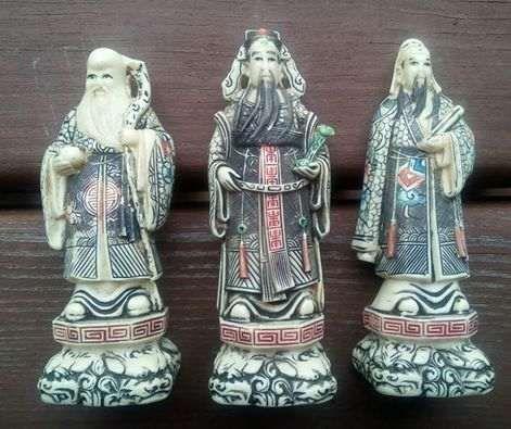 Feng shui Bęben, Lu Shin i Lao Shou Xing, Inne