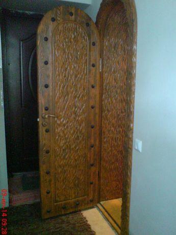 Дверь арочная деревянная