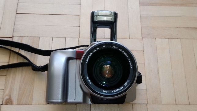Olympus IS-21 aparat analog lustrzanka+akum.stan bdb WYSYŁKA paczkomat