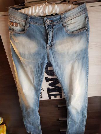 TANIO Męskie Spodnie Sprawdź Spodnie Jeans