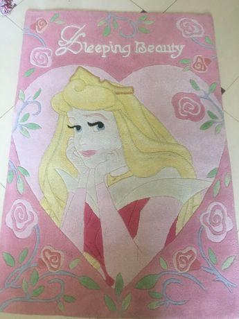 Натуральный ковёр для девочки «Принцесса»