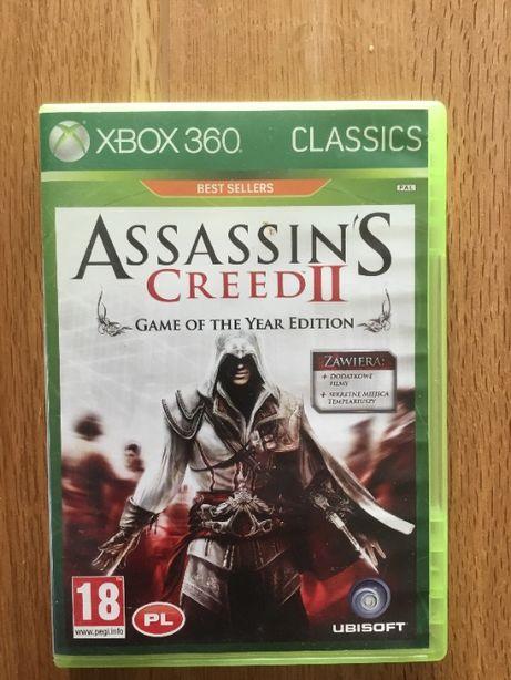 Assassin's Creed II Xbox wersja CD