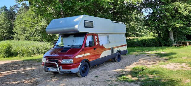 Kamper Camper Iveco 35-10, 2.5TD, 105 KM, solar, webasto, długi - 7m