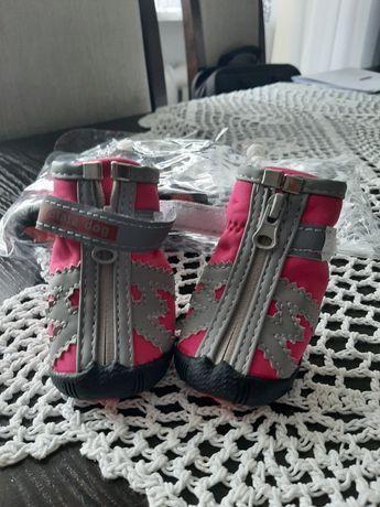 Buty dla pieska na zamek błyskawiczny