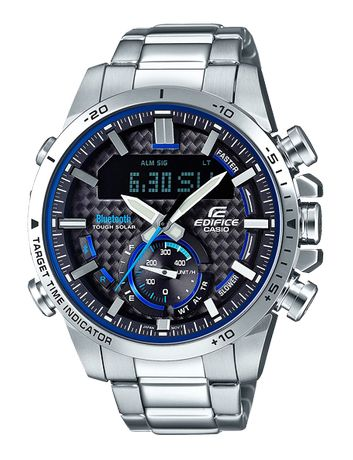 Мужские часы Casio EDIFICE ECB-800D-1A! Гарантия 2 года!