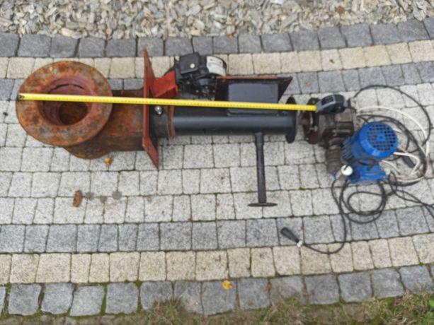 Ślimak z przekładnią do pieca na  ekogroszek 25 kW Pleszew