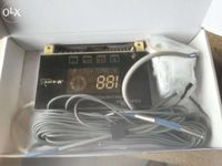 Controlador para painel solar de agua