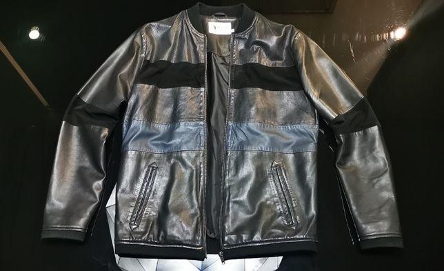 Продам стильную кожаную куртку Napp Jeans в отличном состоянии