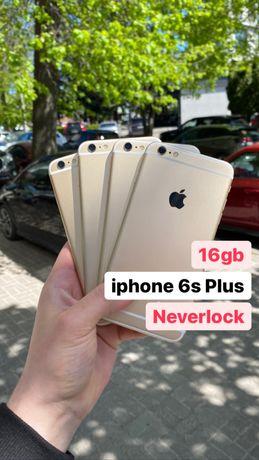 iphone 6s Plus 16gb Gold Neverlock в Кількості!