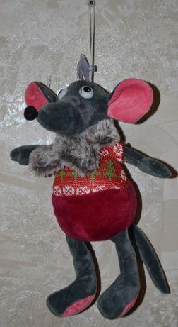 Мягкая игрушка Мышь (Крыса), 26 см