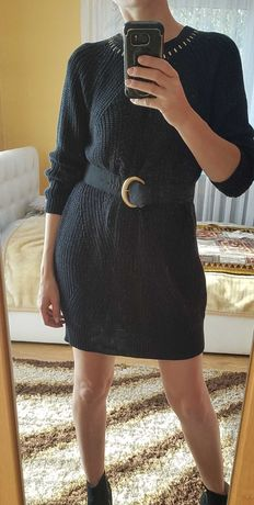River Island sweterkowa sukienka 36
