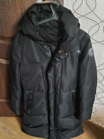 Куртка плащ Armani Jeans с капюшоном