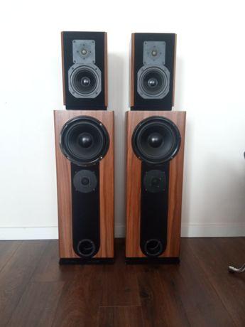 Zestaw kolumny podłogowe głośniki Visaton i monitory z serii Bijou