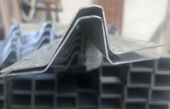 Ripa metálica para telhados