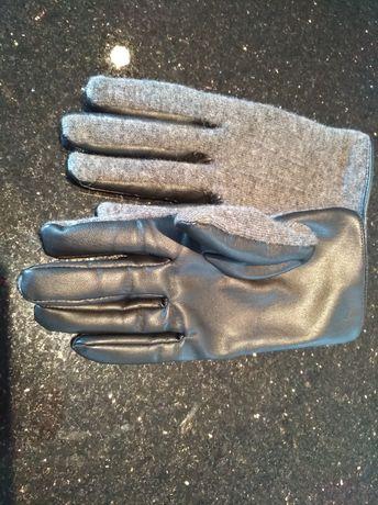 Rękawiczki ORSAY r. M skóra eko rękawiczki zimowe jesień zima