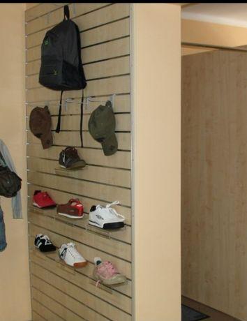 Meble systemowe sklep odzieżowy