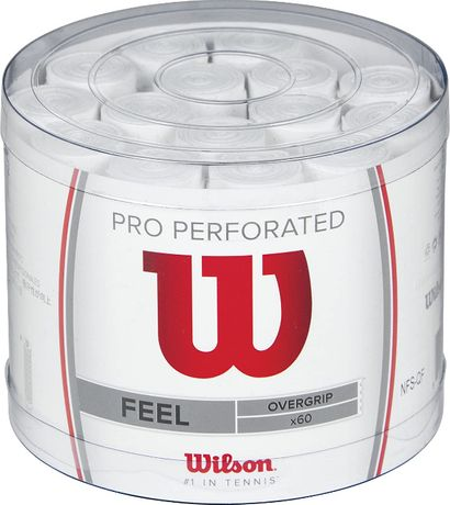 Wilson Pro Feel Perforated Overgrips Overgrip Perfurados Padel Ténis