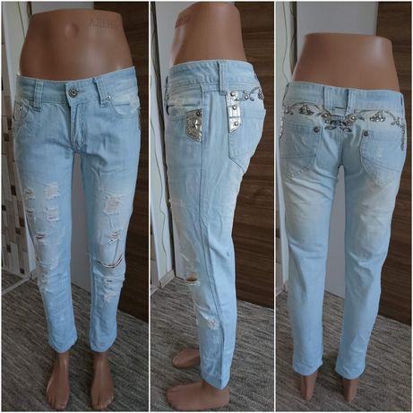 Шикарные светлые джинсы