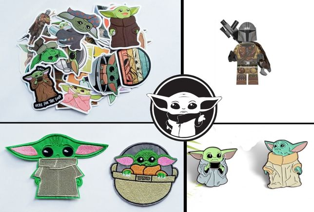 Подарочный набор Mandalorian Baby Yoda Мандалорец Star Wars Малюк Йода