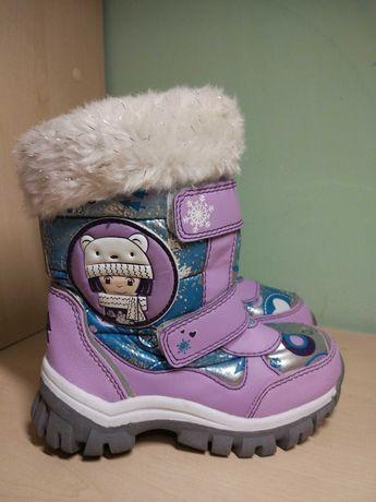Ботинки сапоги зимние для девочки