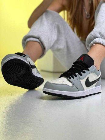 Женские Nike Air Jordan Retro Grey White/Force 1/Качество 1в1 Оригинал