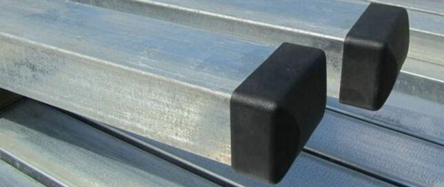 Słupek ogrodzeniowy ocynk panel 60x40 h=200 Słupki ogrodzenie panelowe