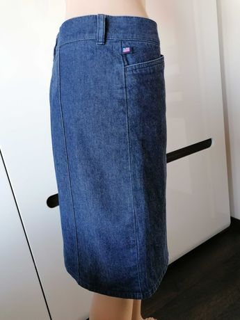 Ralph Lauren dżinsowa spódnica jak nowa. Okazja. S/M. Oryginał.