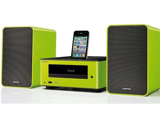Aparelhagem Bluetooth Onkyo CS-245 Hi-Fi Mini System Ipod Iphone Dock