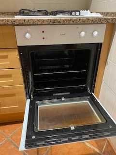 Placa fogão + forno a gás propano