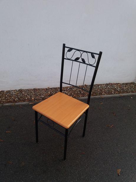 Krzesło krzesła prl vintage buk metal pc 4szt. róznych typów krzeseł