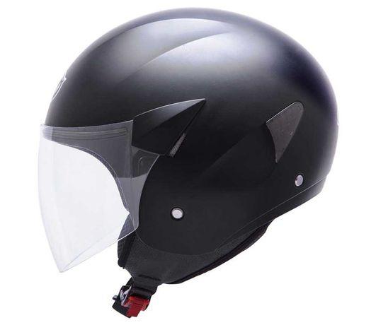 PROMOCJA Kask MT Helmets Sport City na skuter r. L czarny mat